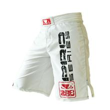 Black White Muay Thai Boxing MMA fitness training pants boxing shorts Tiger Muay Thai cheap mma shorts kickboxing shorts boxeo(China)