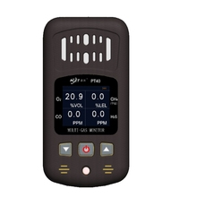 Handheld Gas Detector Oxygen O2 Hydrothion H2S Carbon Monoxide CO Combustible Gas Analyzer 4 in 1