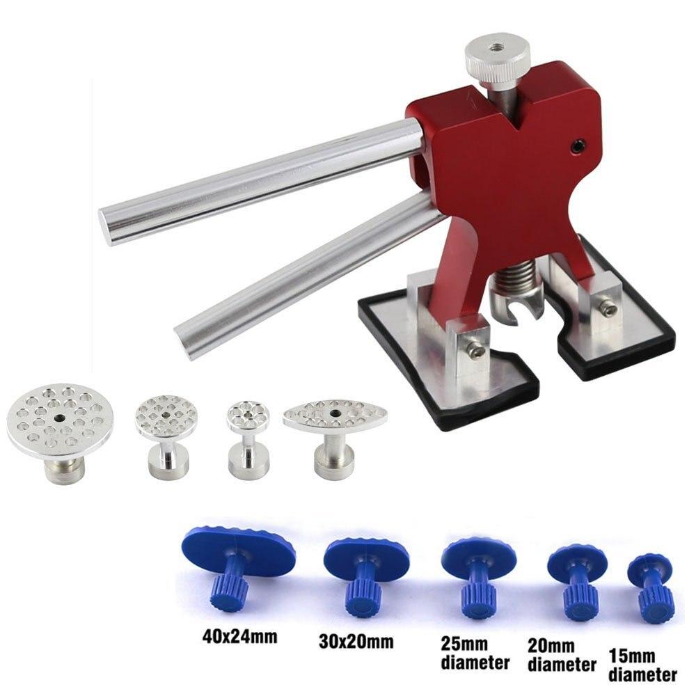 Dent Lifter - Paintless Dent Repair - Glue Puller Hand Lifter PDR Tool with 9 Pcs Glue Puller Tab - Dent Repair Tool<br><br>Aliexpress