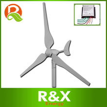 Wholesale wind generator 100w+wind controller. Used for LED street lamp. 3 years warranty.(China)