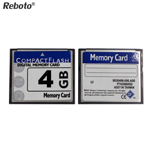 Reboto Hot selling digital memory Card 2GB 4GB CF Card 8GB 16GB memory Card of camera Compact flash 32GB 64GB White box RETAIL(China)
