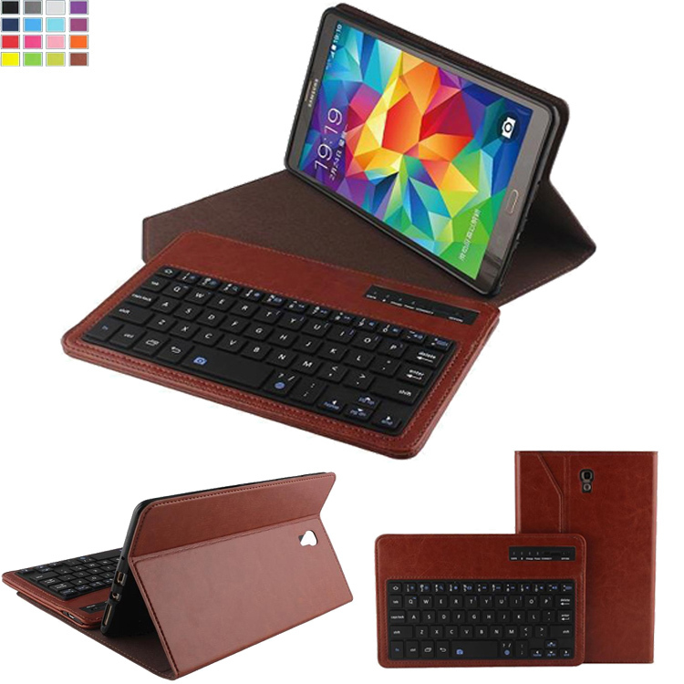 Removable Wireless Bluetooth Keyboard ABS Plastic Laptop Stylish Keys &amp; Protective Case For Samsung Galaxy Tab S 8.4 inch T700<br><br>Aliexpress