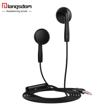 Langsdom IN2 with microphone earphone For iPhone samsung xiaomi earphone for phone Bass Stereo music earphone Universal earphone