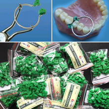 40Pcs/Bag Add-On Autoclavable Silicon Rubber Elastic Wedges Dental Material Used With Ring Free Shipping(China)