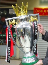 large size 77cm english  Premiership Champions Cup,  F.A. barcley ENGLISH PREMIER LEAGUE CUP , Football Replica Trophy Cup 77CM