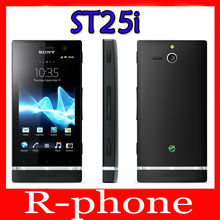 Big Discount Original Sony Xperia U ST25i Mobile Phone Unlocked ST25i Dual-core phone 3G GSM WIFI GPS 5MP