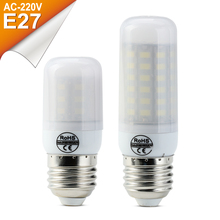 LED Lamp E27 220V LED Light SMD5730 Mini E14 LED Bulb Corn Light 24/30/38/48/56/69LEDs Chandelier Lamps Home LED Corn Bulbs 220V