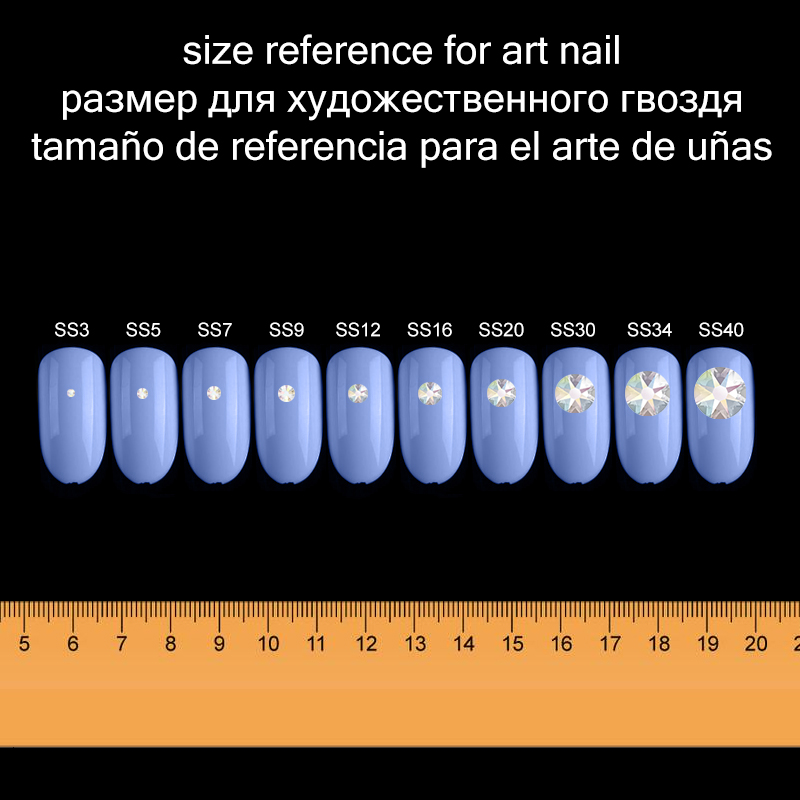 SIZE for art nail