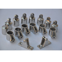 316 Stainless Steel 4-Bow Bimini Top Boat Stainless Steel Fittings Marine Hardware Set boat accessories marine(China)