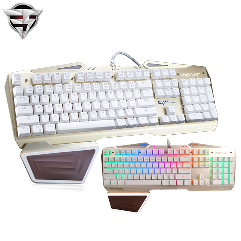 TEAMWOLF VODRAY Mechanical Keyboard 104 MX black blue red switches Backlight Metal Panels Gaming Keyboard For Laptop PC office<br><br>Aliexpress