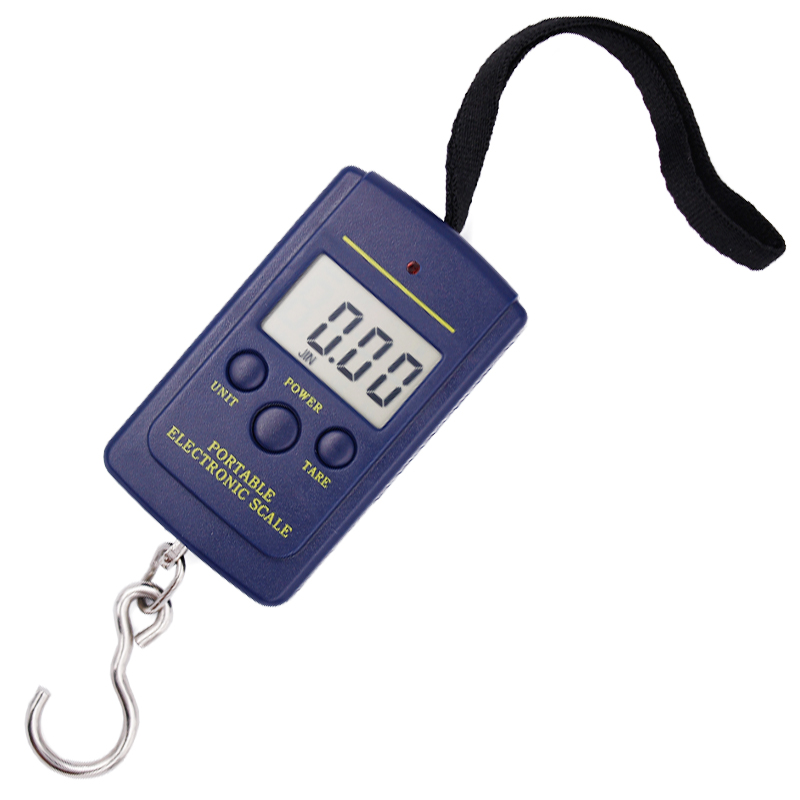 100pcs/lot by dhl fedex 40kg x 10g Hanging Luggage Electronic Portable Digital Weight  pocket scale 8