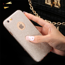 KISSCASE For iPhone 6 6s Plus Case Luxury Glitter PC Case For iPhone SE 5 5s 6 6s 6 Plus Bling Hard Back Protective Cover Capa