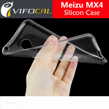 Meizu MX4 Case TPU Silicon Accessories Comfortable Clear Back Protector Cover For Mobile Phone + Free Shipping