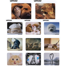 Funny Animal Cat Dog lion swan Anime Mouse Pad and So on Custom Design  Anti-slip Mousepad Computer Mouse Pad Mat  250x210x2MM