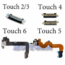 Hot Sale 100% Original For ipod Touch 3 4 5 6  Charger Dock USB Charging Port Plug Flex Cable With Headphone jack