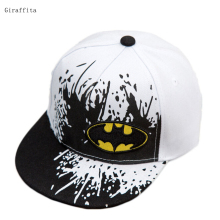 Kids Snapback Batman Cap Children Adjustable Flat Hats 2017 New Snapback Caps Gorras Unisex Kids(China)