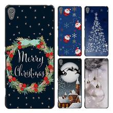 Merry Christmas Style Case Cover for Sony Ericsson Xperia X XZ XA XA1 M4 Aqua E4 E5 C4 C5 Z1 Z2 Z3 Z4 Z5