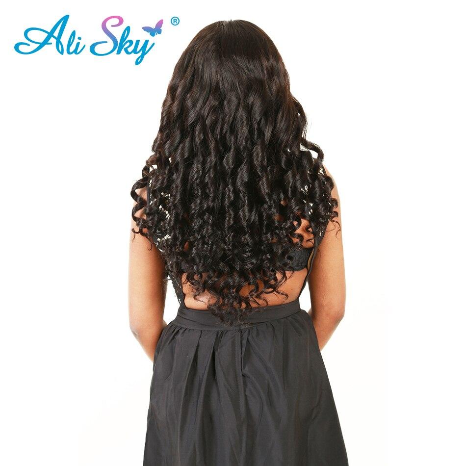 Ali Sky Peruvian Loose Wave Virgin Human Hair Extension 1pc 100% Unprocessed Hair Weave Bundles 100g Hair Weft Hair Vendors