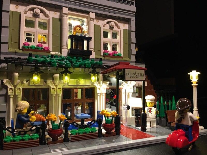 Acquista kit di illuminazione a led lego e lepin creator esperto