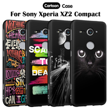 Buy EiiMoo Phone Case Sony Xperia XZ2 Compact H8314 H8324 Case Dual Cartoon Silicone Back Cover Sony Xperia XZ2 Compact Case for $2.14 in AliExpress store