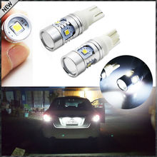 Super Bright Xenon White 2323-Chipset 168 2825 912 920 921 T10 LED Bulbs For Backup Reverse Lights or Parking Position Lights
