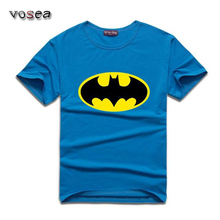 Women Men t shirts fashion 2016 batman t shirt o neck cotton batman printed casual tshirt homme fitness brand clothing 10 colors