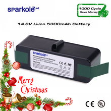 SPARKOLE Neue Version 5.3Ah 14,8 v Li-Ion Akku für iRobot Roomba 500 600 700 800 Serie 510 532 550 560 620 630 650 880 770 780(China)