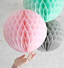 12pcs Mix Size Honeycomb Balls Wedding Birthday Party Decorations Kids Baby Shower Favors Event Party Supplies Paper Lanterns
