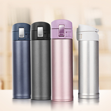 Quality Termos 500Ml Thermoses Cup Stainless Steel Bottle Vacuum Flasks Garrafa Termica Infantil My Bottle Thermo Coffee Mug