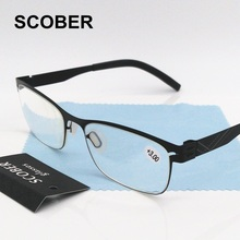 High End Computer Worker's Anti-fatigue Anti-radiation Blue Light Proof Reading Glasses Men Women Presbyopia Eyeglasses R115