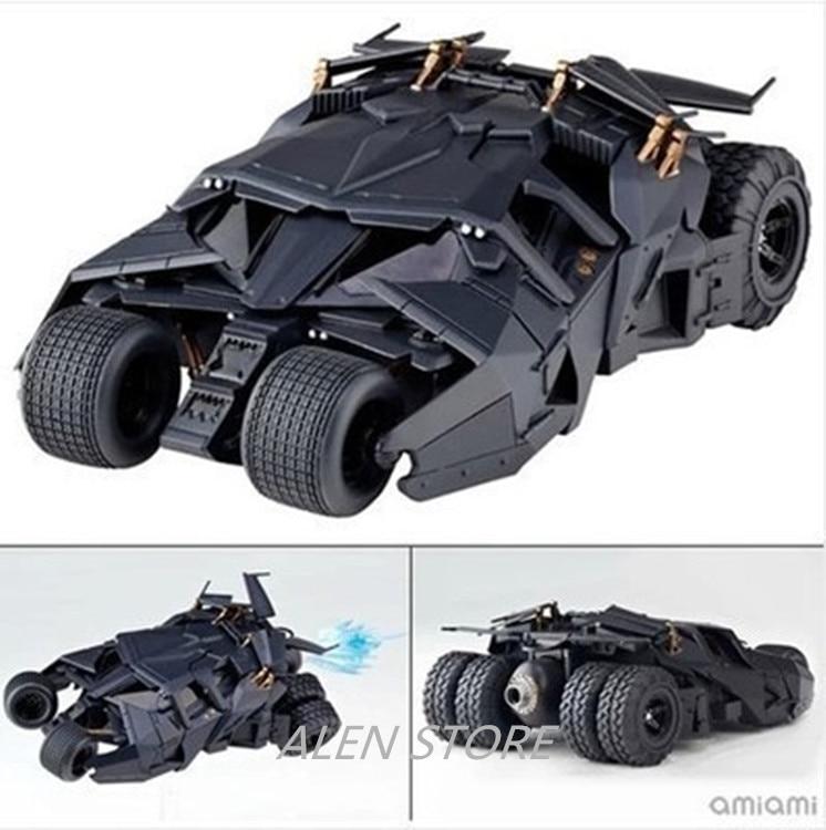 ALEN Mvie Batman The Dark Knight Rises Bruce Wayne Batmobile Tumbler 043# Cartoon Toy PVC Action Figure Model Gift<br>