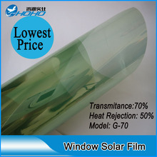 big discount Hot sale imported materials 99% anti-uv rate and light green building window tint film solar mirror foil(China)