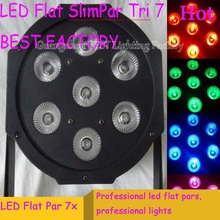 20pcs/lot Fast Shipping Black LED Par Can 64 LED Par64 LED Tri 7 RGB 7x 9W