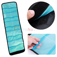 Lens Filter Wallet Case 10 Pockets Filter Bag For 25mm to 82mm CPL UV ND Filters(China)