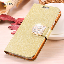 KISSCASE For Samsung S5 Cases S8 Plus Bling Diamond Glitter Leather Case Cover For Samsung Galaxy S5 S6 S6 Edge S8 Card Slot Bag