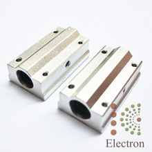 2pcs SC8LUU SCS8LUU 8mm Linear Motion Ball Bearing Long Type Block Unit for CNC Router 3D printer