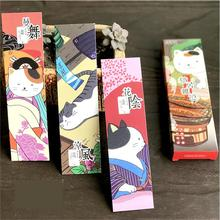 30pcs/pack Cartoon Various Cat Bookmark Paper Bookmarkers Promotional Gift Stationery Free Bookmarks For Books Book Marks