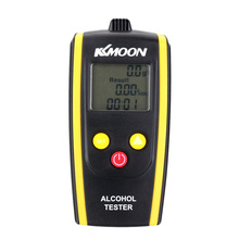 Brand New KKmoon Portable Digital Alcohol Tester Meter Professional Alcohol Content Detector High Sensitivity Breathalyzer