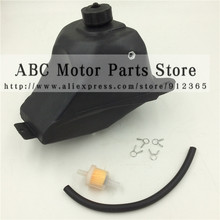 Gas Fuel Tank para 47cc 49cc 2 tiempos Apollo KXD Mini Moto Dirt Pocket Bike ATV Quad Go Kart Minimoto motocicleta Motocross(China)