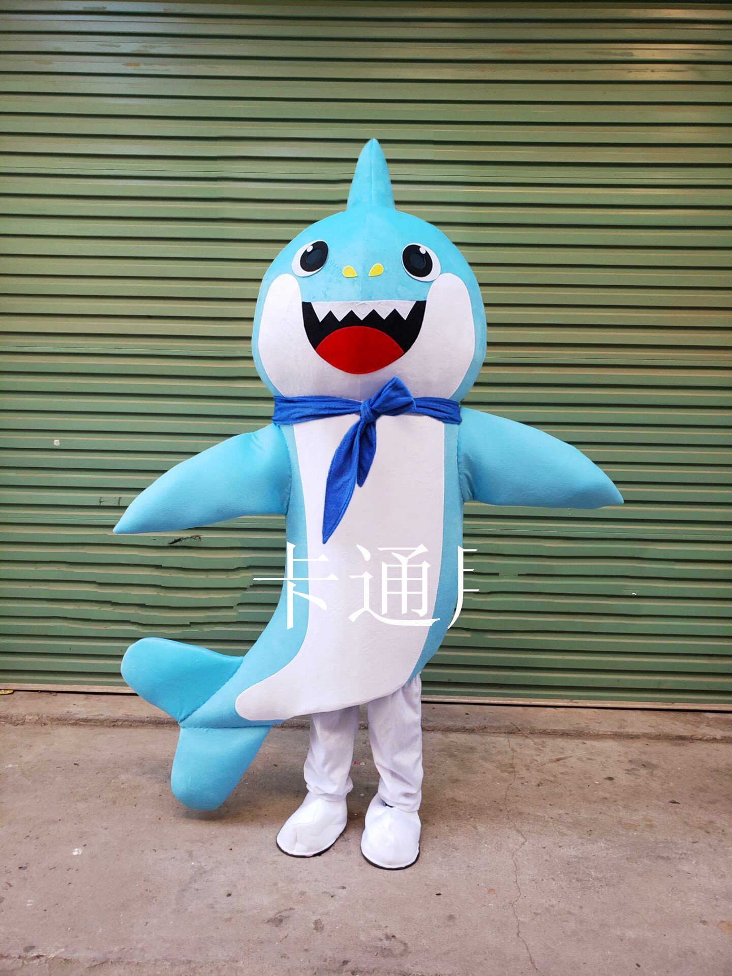 Shark Mascot Costume Ocean Mascot Cartoon Character Birthday Party Carnival Festival Fancy Cosplay Dress Adult Outfit