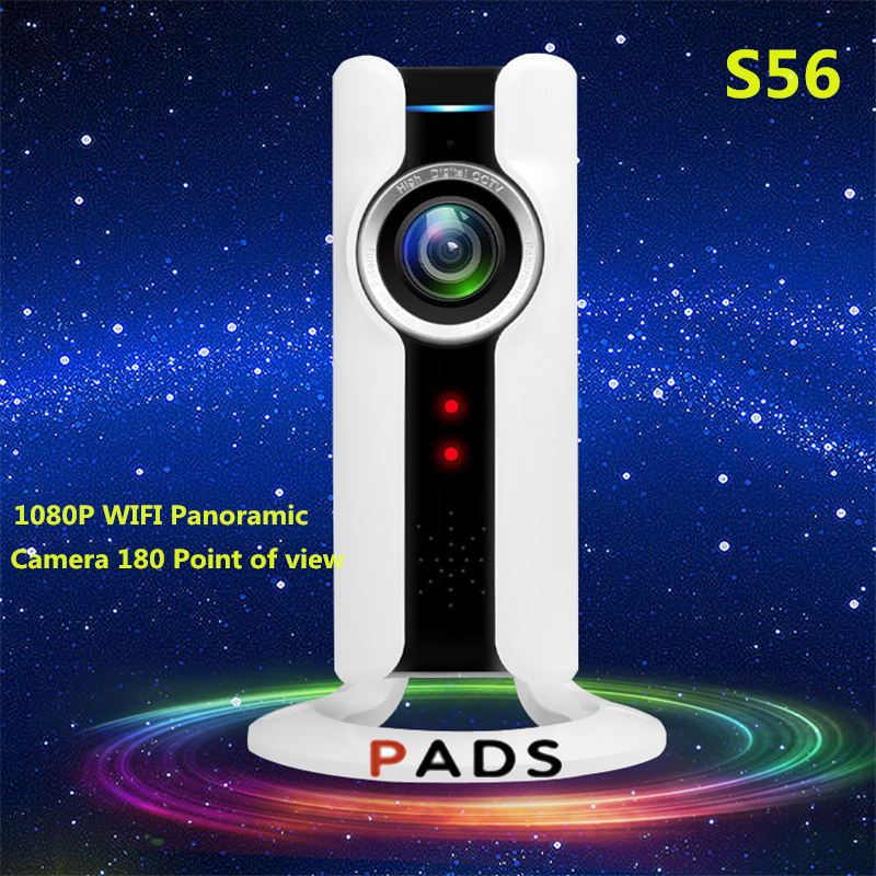 Wifi VR IP Camera Wireless 720P HD Smart 180 panoramic Network CCTV Security Camera Home Protection Surveillance Cam<br>
