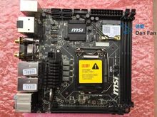 For MSI Z87I  i5 i7 Desktop Motherboard MS-7851 VER:1.0 Z87 LGA1150 Mainboard 100%tested fully work