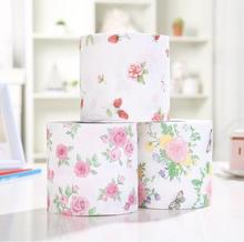 3Styles 3packs 30m/pack flower design Paper napkin Toilet Tissues Roll Novelty Toilet Tissue Wholesale(China)