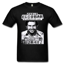 Gangster Pablo escobar t shirt Colombian Drug Capon t-shirt