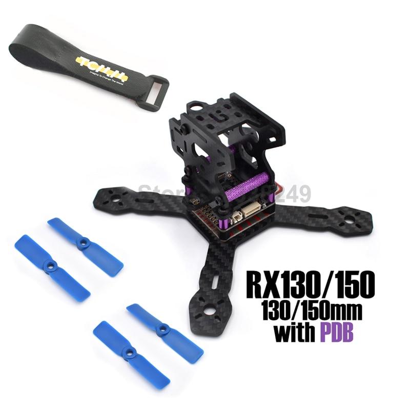Mini 130 150 RX130 130mm RX150 150mm Carbon Fiber Frame 3mm Arm for QAV-R MMX 220 ZMR250 Martian Racing Quadcopter +<br><br>Aliexpress