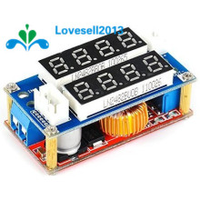 1 Pieces Adjustable Max 5A Current Voltage Display Step Down Module LED Panel Step-Down Charging Board Module