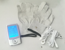 Rechargeable16 Modes TENS Machine MINI Digital Massager Electrode Stimulator Acupuncture with gloves For Physical Therapy(China)