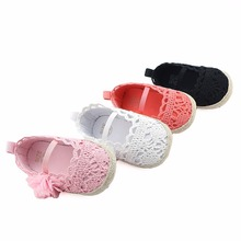 ROMIRUS Princess Ballet Dress Party Shoes Baby Girl Kids Sweet Knitted Prewalker Infant Children Spring Shoe Babe First Walkers(China)