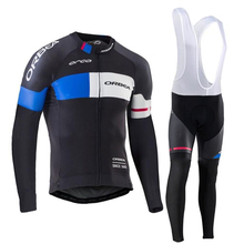 Men's long ropa ciclismo mtb bike clothes cycling clothing sets specialized bicycle cheap cycle clothing Maillot popular style(China)