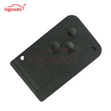 Ключ карты 434 мГц PCF7947 чип ID46 3 кнопки для Renault Megane 2 Megane II Smart Remote Key kigoauto(China)